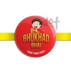 Customised Rakhi fro Rakshabandhan by Dot Badges