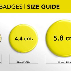Badge Sizes Dot vs coin